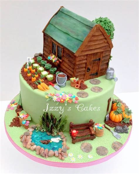 20 Cakes That Are So Captivating Page 6 Of 20 Garden Cake Ideas