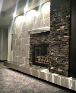stainless steel fireplace mantel 17 best images about custom fireplaces on