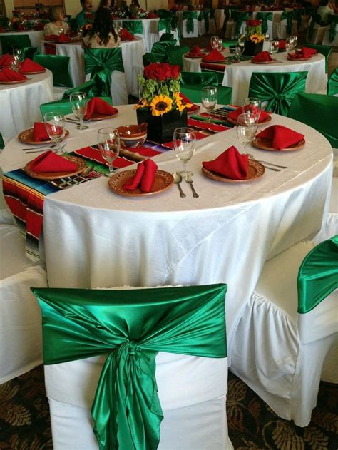 mexican themed party table  centerpiece celebrations