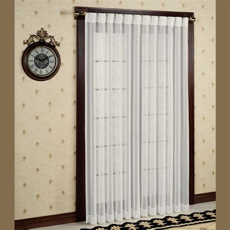lucerne semi sheer patio curtain panels
