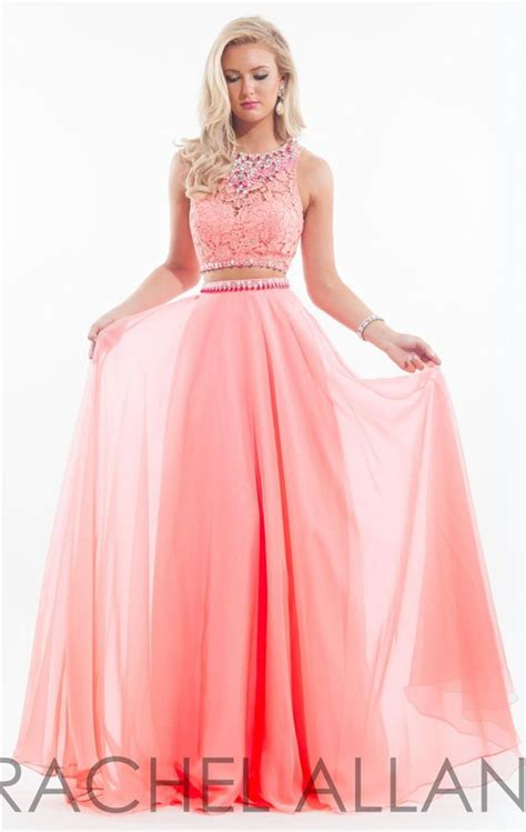 Best 25  Coral prom dresses ideas on Pinterest   Prom dresses two piece, Orange prom dresses and