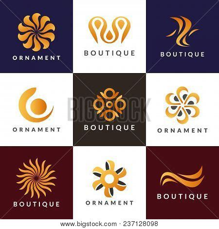 Logo Decoration by Luxury Logo Set A Collection Of Logos For Interior