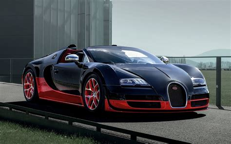 In A Bugatti Sport Car Garage Bugatti Veyron Grand Sport Vitesse 2012