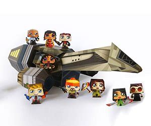 Firefly Papercraft - science fiction papercraft