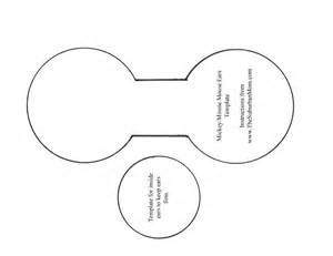 mickey mouse ears template minnie and mickey mouse costume diy curiously
