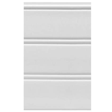 Interior Paneling Home Depot House Of Fara W96wp 12 Sq Ft White Vinyl Reversible Interior Exterior Paneling 3 Per