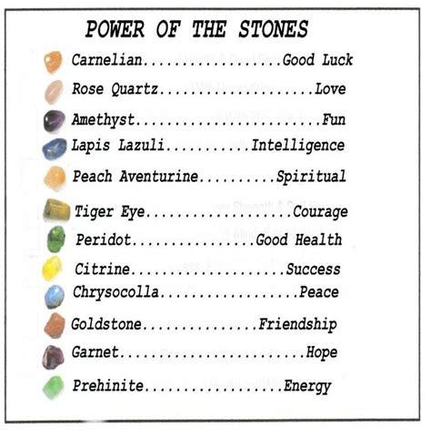 best 25 gemstones meanings ideas on crystals