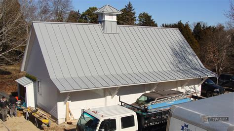 angled roof dove gray aluminum roof angled with solar panels installed