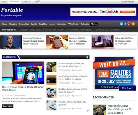 blogger unik 3 template blog unik keren simple responsive free