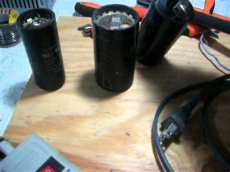 capacitor para motor de 1 2 hp como probar un capacitor