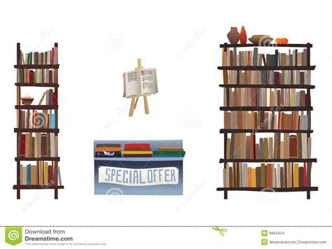 libreria di libro in libro mensole di libro ed attrezzature della libreria
