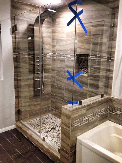 Custom Glass Doors For Showers Oak Brook Il Glass Shower Custom Cut Shower Doors