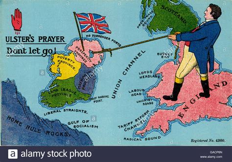 an anti home rule unionist postcard ulster s prayer don
