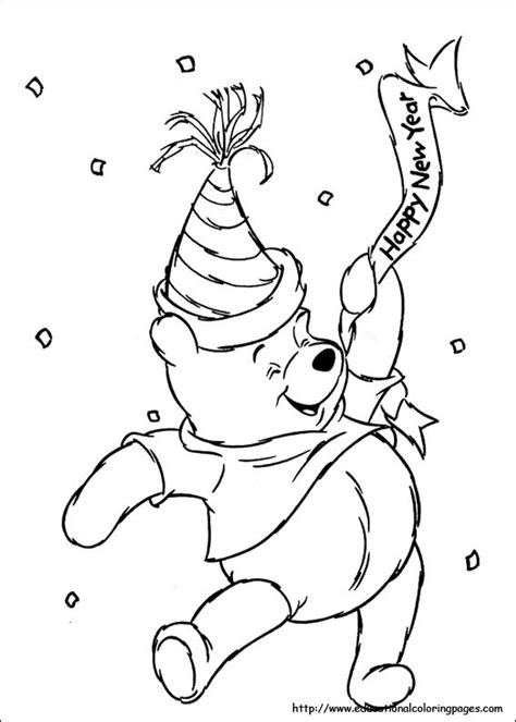 winnie the pooh christmas coloring pages az coloring pages