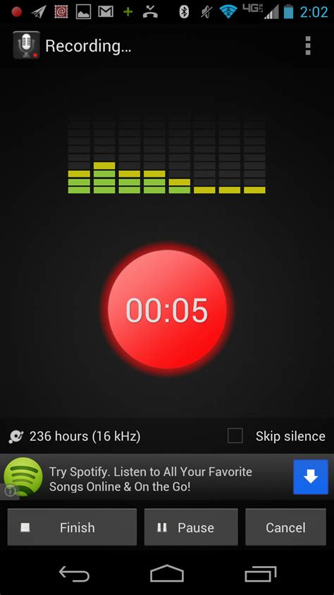 top four android voice recorder applications techrepublic - Voice Recorder Android