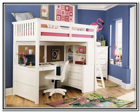 white loft bed with desk wooden loft bed with desk most recommended space