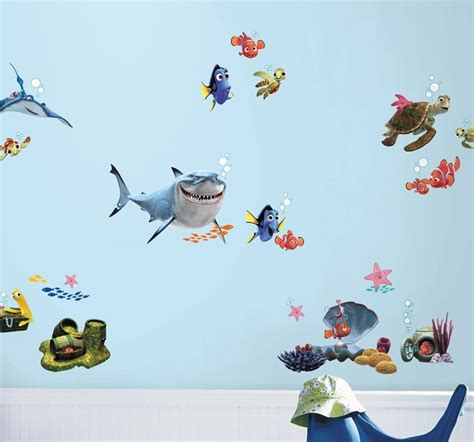 finding nemo wall stickers finding nemo wall stickers disney finding nemo decals