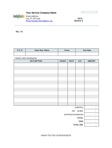 abn invoice template invoice template abn hardhost info