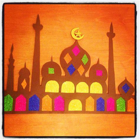 Decoration Islam by Ramadan Decoration Craft Mosque Ramadan