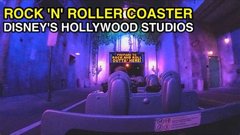 hollywood studios north little rock 4k rock n roller coaster starring aerosmith disney s