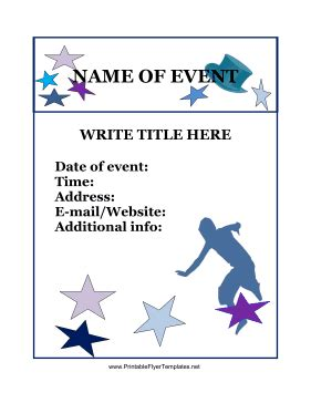 free printable flyers templates event flyer