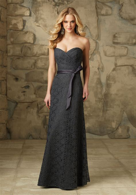 Bridesmaid Dress Patterns With Lace - sophisticated and lace bridesmaid dress style
