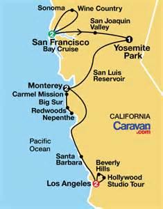 california coast and yosemite park caravan pavlus travel