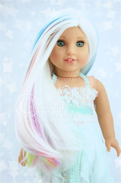 doll unicorn unicorn deluxe elegance doll wig for custom american