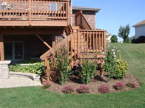 walkout basement backyard ideas walkout basement with deck google search diy projects
