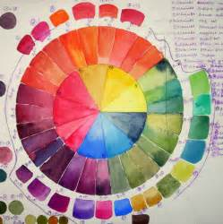 color theory wheel color wheels color mixing values watercolor journal