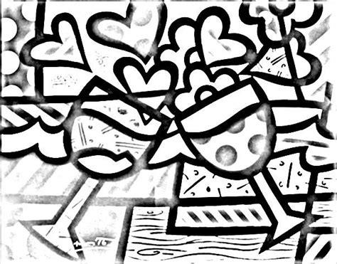 dibujos de romero britto para colorear romero britto para colorear buscar con google moldes