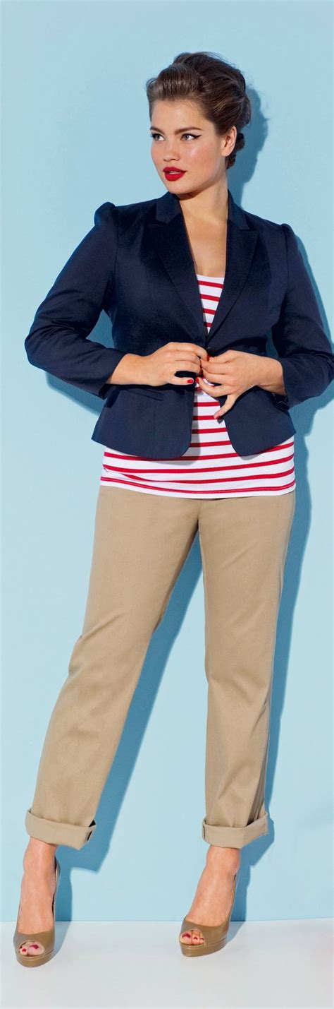 cruise wear for women over 50 plus size nautical stripes see more cruise wear at http