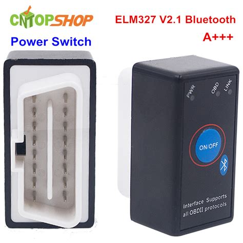Mini Bluetooth Elm327 Obd2 Dengan Switch On Bisa Dimatikan selling mini switch obd2 elm327 bluetooth v2 1 switch interface diagnostic tool v2 1 switch