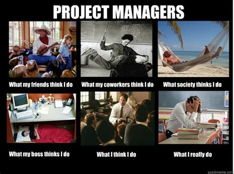 Project Management Meme - project managers what my friends think i do what my