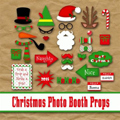 free printable grinch photo booth props christmas photo booth props and banner printable