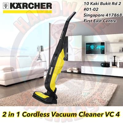 Vacuum Cleaner Denpoo Vc 0017 qoo10 karcher 2 in 1 vacuum cleaner vc 4 battery home appliances