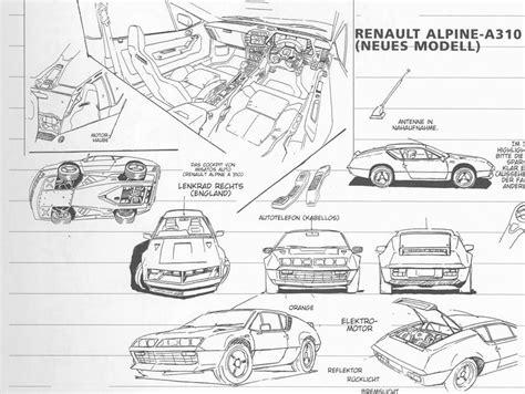renault alpine a310 interior el y los coches europeos evaluo
