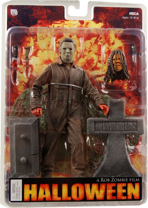 film action zombie halloween michael myers figure rob zombie s halloween 7