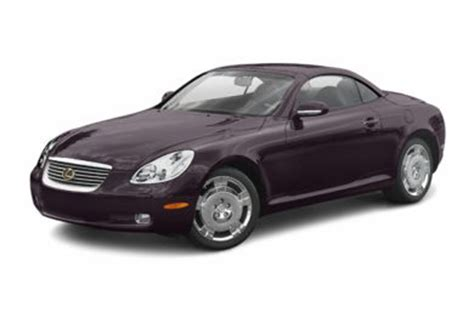 2004 lexus sc 430 specs safety rating mpg carsdirect