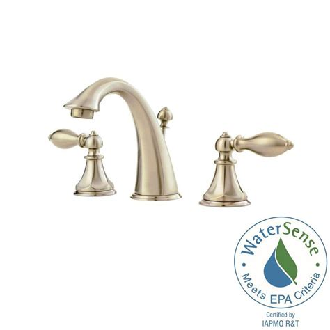 pfister faucets bathroom pfister catalina 8 in widespread 2 handle bathroom faucet