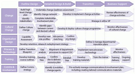 system transition plan template generic business unit transition plan change management