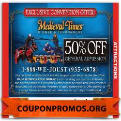 How can you save money with printable medieval times coupons 10