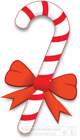 peppermint martini clip art candy cane with bow clipart 58