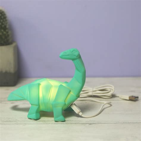 House Of Disaster Mini Led Diplodocus Night Light Lisa Dinosaur Lights
