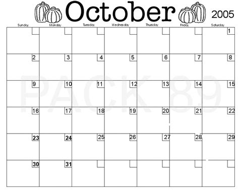 September 2005 Calendar Pin September 2005 Calendar Pdf Excel Word From General