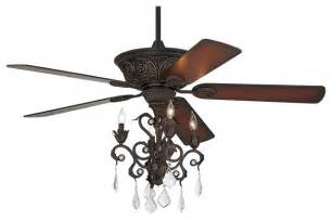 Ceiling Fan And Chandelier Casa Contessa Bronze Chandelier Ceiling Fan Traditional Ceiling Fans
