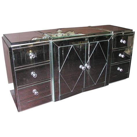 Mirrored Dressers For Sale by Custom Mirrored Dresser For Sale At 1stdibs