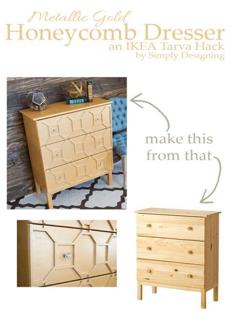 Diy Home Design Inspiration Diy Home Decor Inspiration Ikea Tarva Hack Metallic