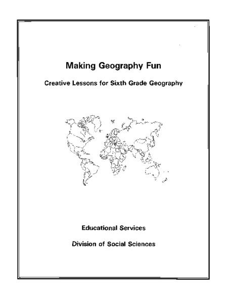 themes of geography packet 6th grade worksheets on theme second grade sentences