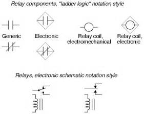 switches electrically actuated relays circuit schematic symbols electronics textbook